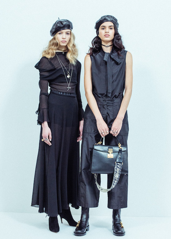Les coulisses du défilé Dior prêt-   à-   porter AH17/18 - 3