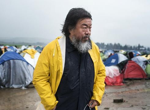 Law of the journey: Ai Weiwei expose une œuvre monumentale en hommage aux réfugiés