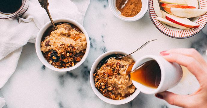 5 recettes simples et rapides aux flocons d'avoine