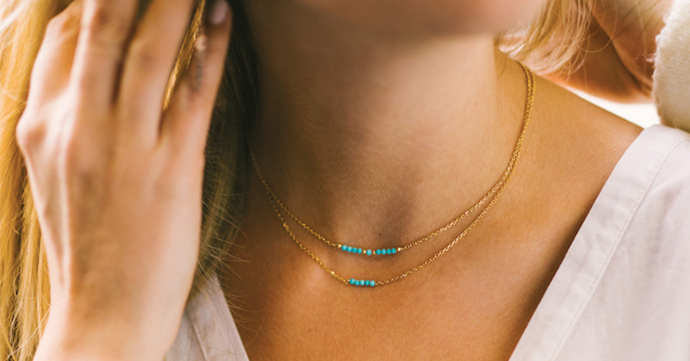 Crush of the day: le collier friandise de LeaRose