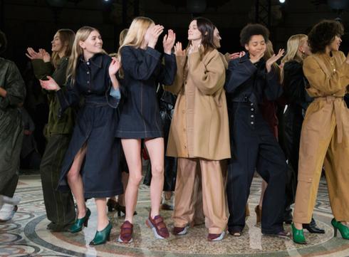 Paris Fashion Week: le défilé Stella McCartney automne-hiver 2017-2018