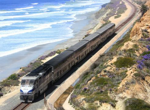 Etats-Unis: le train plus glamour que la route 66