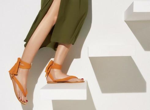 Sélection de sandales: l'été à nos pieds!