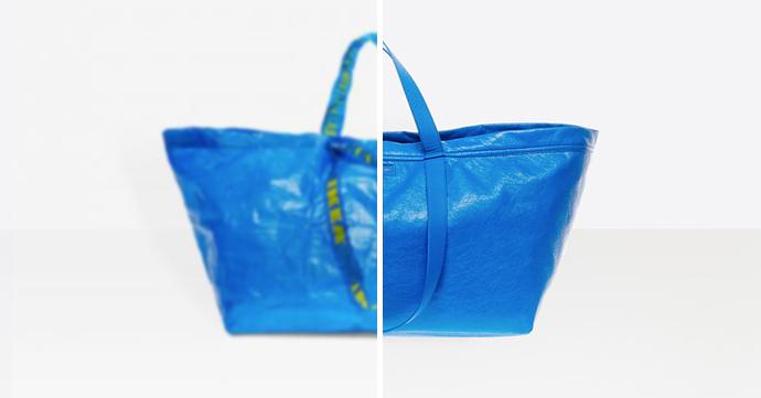 Le match mode improbable entre Balenciaga et… IKEA!