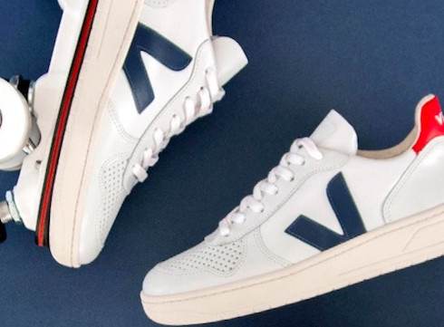 Crush of the day: la basket-   roller Veja X Flaneurz