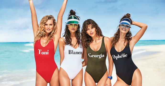Crush of the day: les maillots personnalisables de Calzedonia