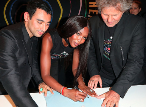 Diesel et Naomi Campbell unissent leurs forces pour la bonne cause