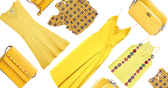 Sélection shopping jaune: faites entrer le soleil !