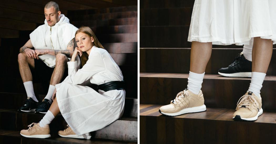 Adidas Consortium x Avenue Sneaker Store Anvers: la basket EQT 93/16 Support