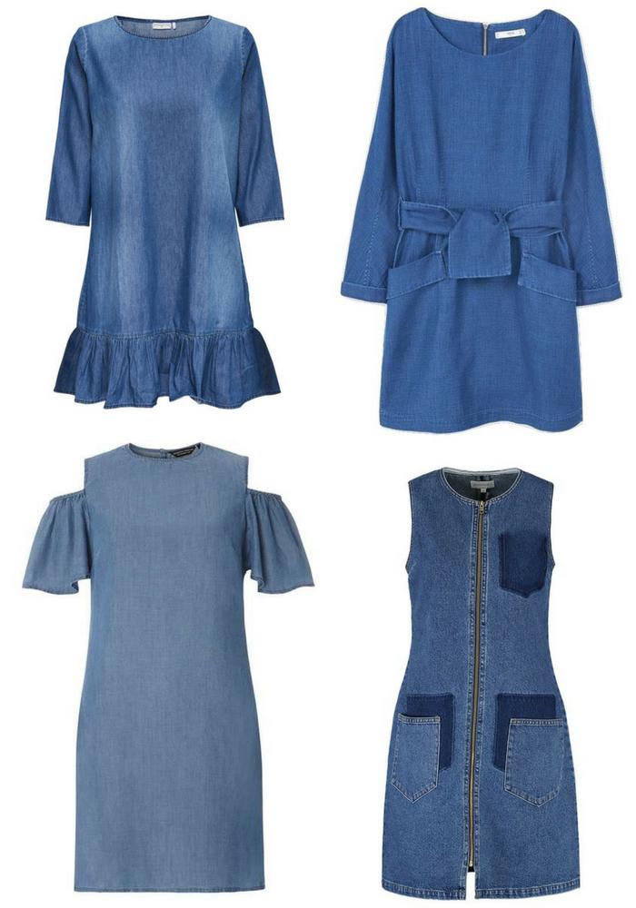 256fe12bb7e Shopping  la robe en jean