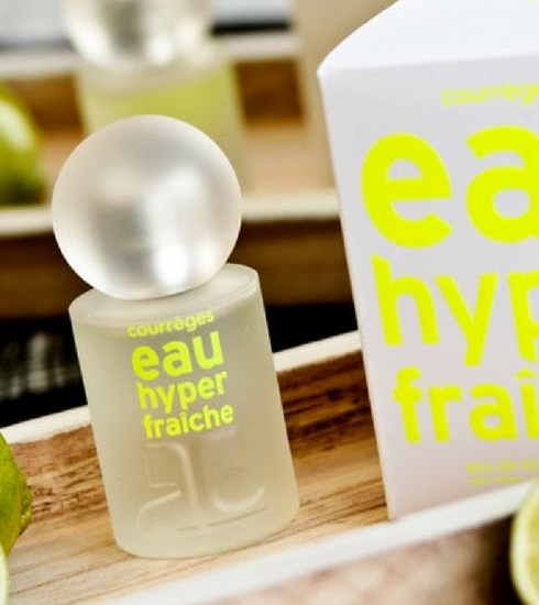 Crush of the day: l'Eau Hyper Fraîche de Courrèges