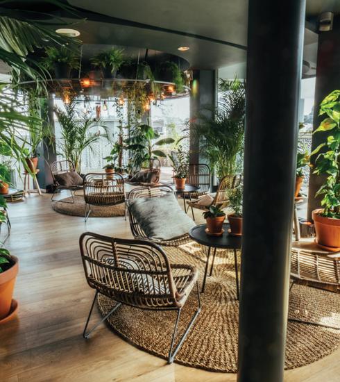 Là-Haut Viage: le nouveau rooftop pour vos afterworks