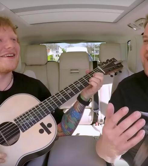 Le Carpool Karaoke d'Ed Sheeran est tout ce dont on rêvait