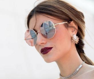 Crush of the day  les lunettes de soleil Dior LadyDior Studs · lunettes  effet miroir 3d6de62de4d1