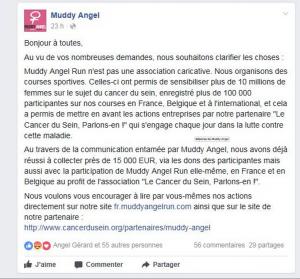 Muddy Angel Run: courir pour la bonne cause… Vraiment? - 3