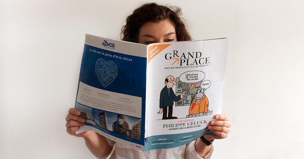 Grand Place, le nouveau magazine gratuit qui fait « bruxeller»