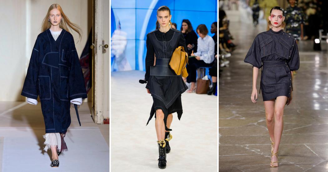 Shopping: la robe en jean, nouvelle pièce tendance du moment