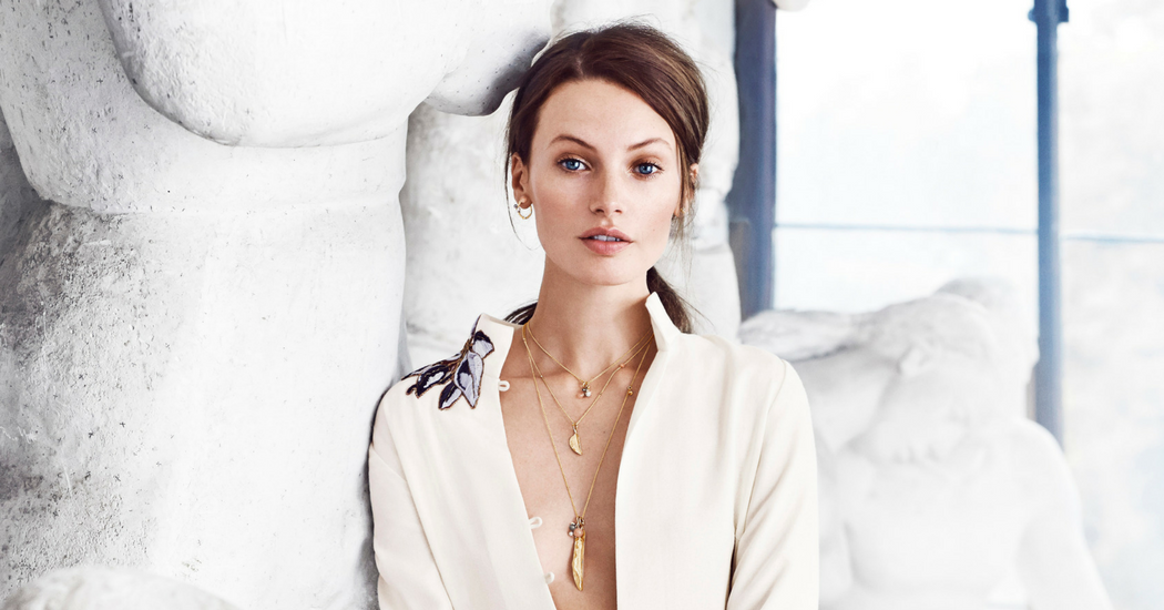 Crush of the day: la collection bijoux Golden Forest Leaves d'Ole Lyngaard Copenhagen