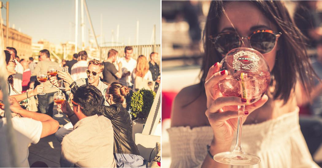 Hotspot: Martini présente la Terrazza à Bruxelles