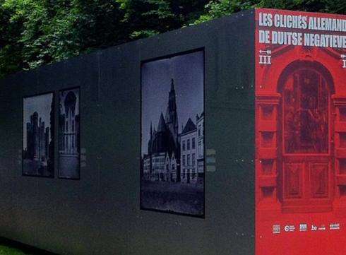 Exposition gratuite au Parc Royal : quand l'occupant allemand photographiait notre patrimoine