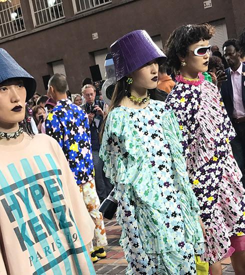 Fashion week : Kenzo, place aux jeunes