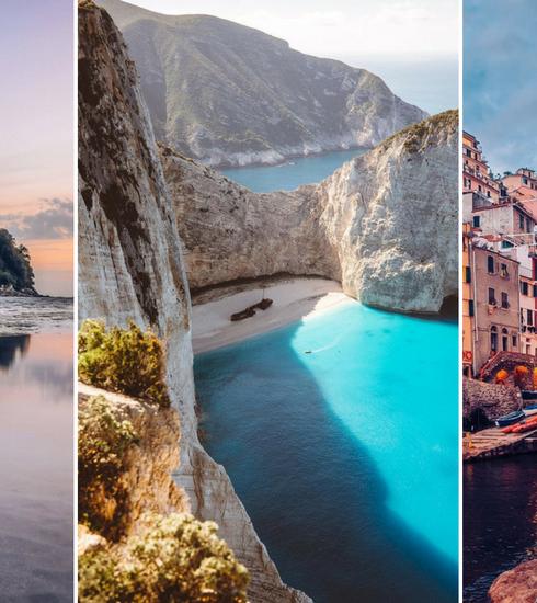 Les endroits les plus photogéniques d'Europe