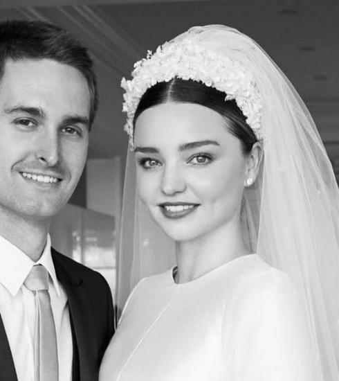 Les jolies photos de mariage de Miranda Kerr