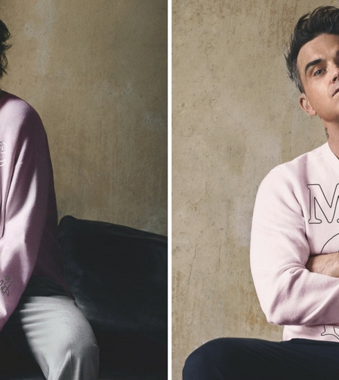 Robbie Williams & Ayda Field créent pour Marc O'Polo