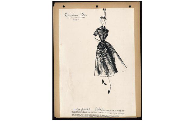 Les Galeries Lafayette célèbrent les 70 ans de la Maison Dior 150*150
