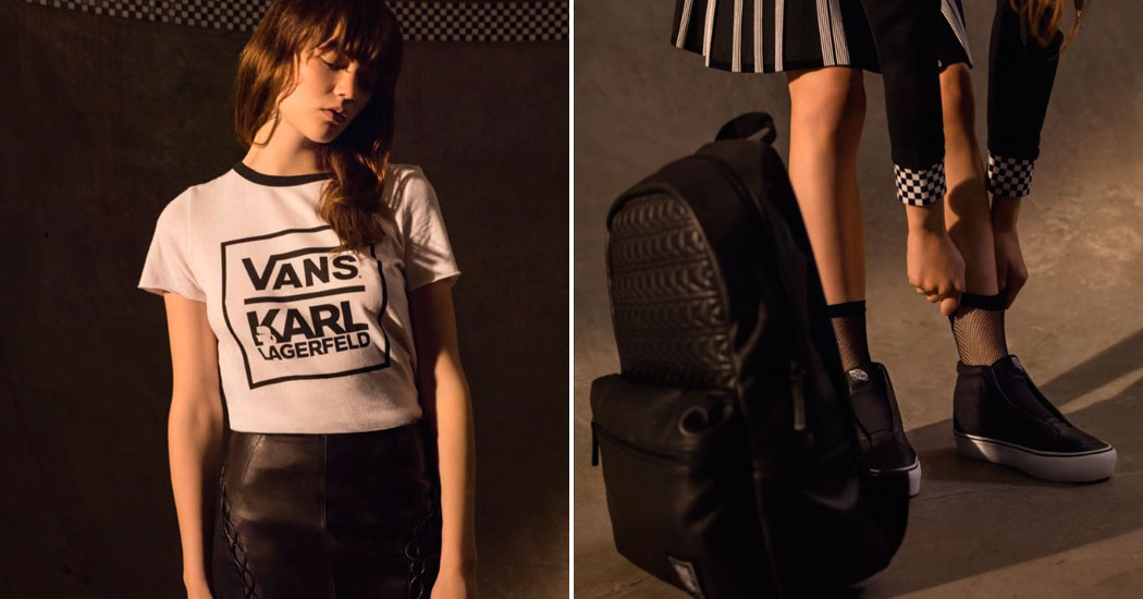 Crush of the day: ce qu'il faut savoir de la collab' Karl Lagerfeld x Vans