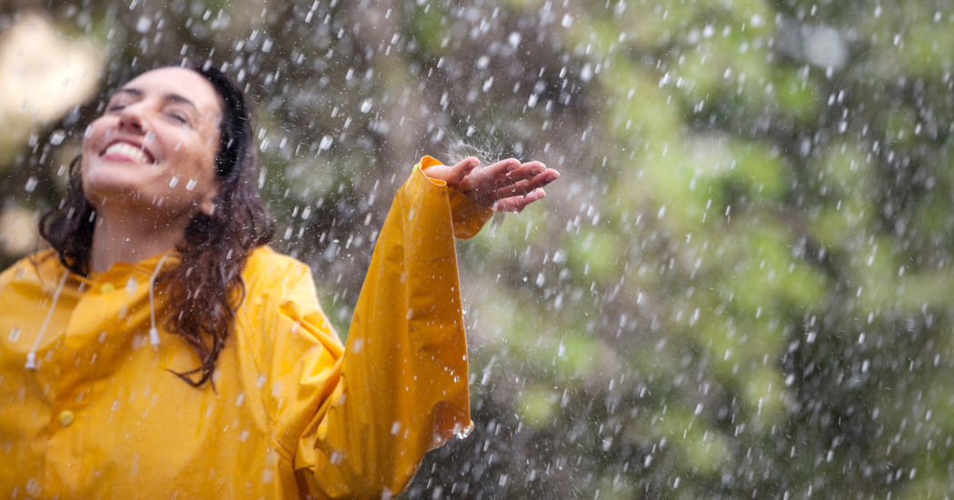 6 manières d'apprécier la pluie
