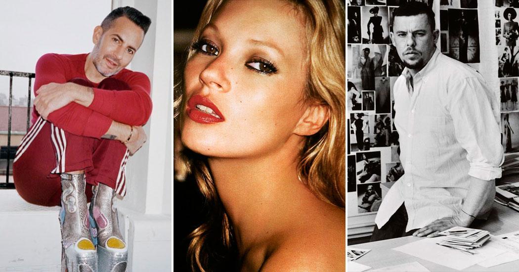 Champagne Supernova: Kate Moss, Marc Jacobs & Alexander McQueen bientôt dans une série télé
