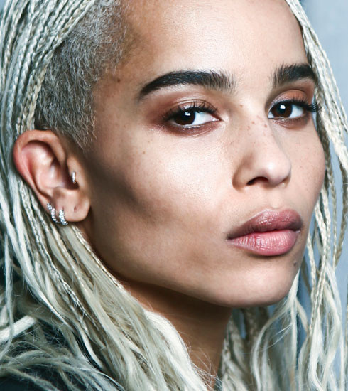 Zoë Kravitz, ambassadrice rock d'Yves Saint Laurent Beauté