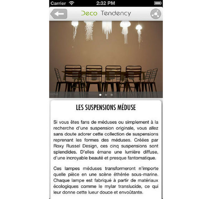 Cinq applis d co pour r chauffer son int rieur page 4 for Application deco interieur