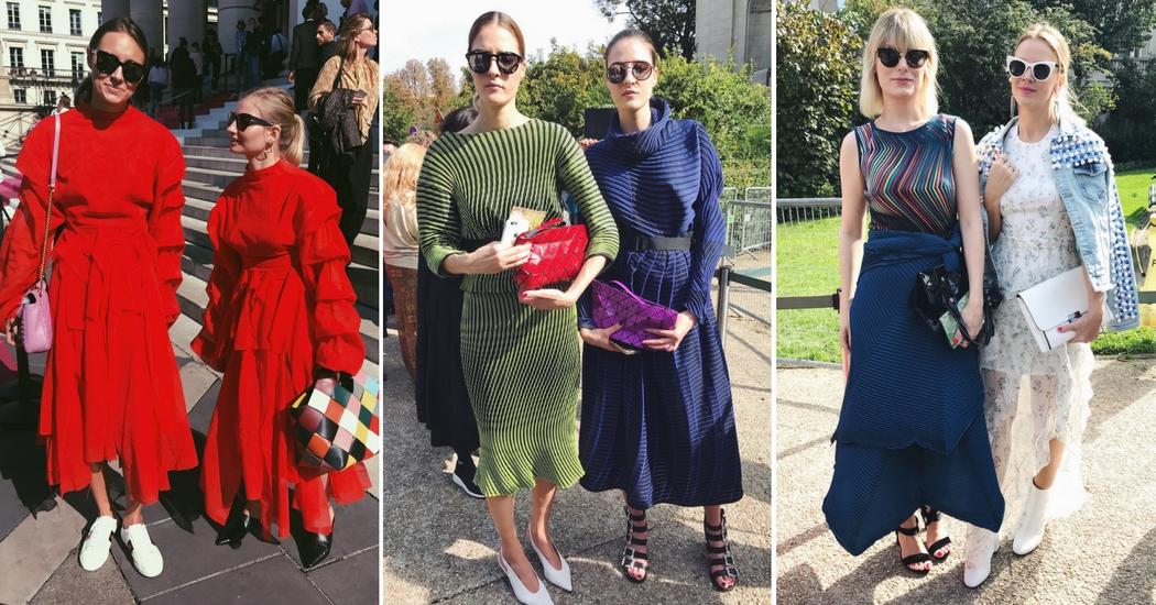 En direct: 25 looks à la Fashion Week de Paris