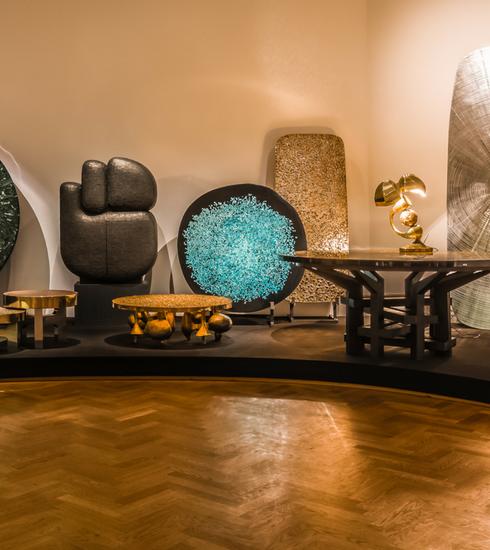 Expo: Ado Chale, l'alchimiste, l'artisan, le designer
