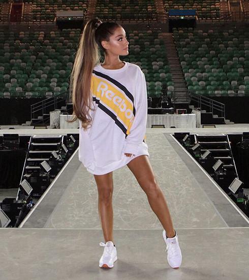 Ariana Grande x Reebok: la voix de la jeune génération