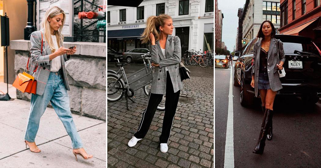 Où shopper le blazer à carreaux, la «it pièce» de l'automne?