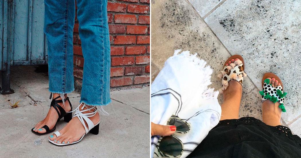 4ee4516ad44 La tendance mode insolite  les chaussures dépareillées - Marie Claire