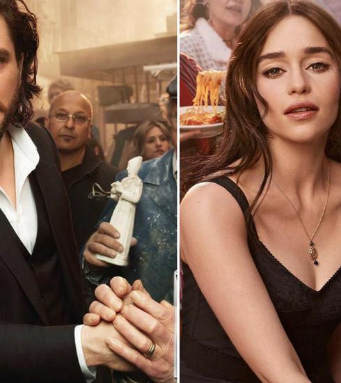 Kit Harington et Emilia Clarke en égéries Dolce & Gabbana