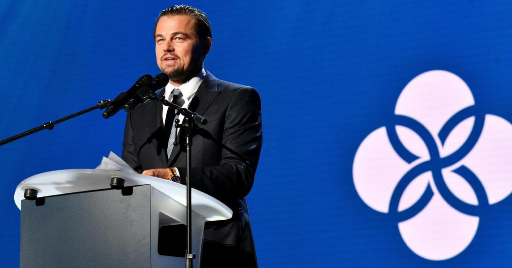 Léonardo DiCaprio fait un don conséquent pour lutter contre le réchauffement climatique