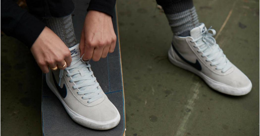 Nike sort la première chaussure de skate qui pense aux