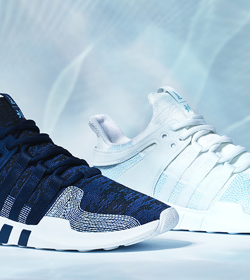Adidas lance sa première basket en plastique océanique recyclé