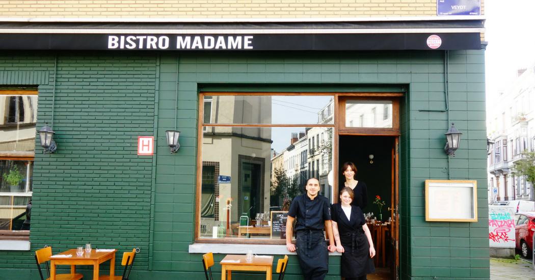 Bruxelles: foncez chez Bistro Madame avant que tout le monde n'en parle