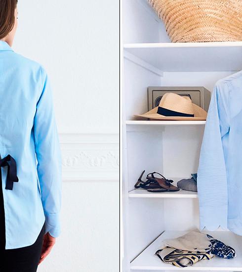 Remportez votre chemise Jeanne des Comptoirs d'Orta