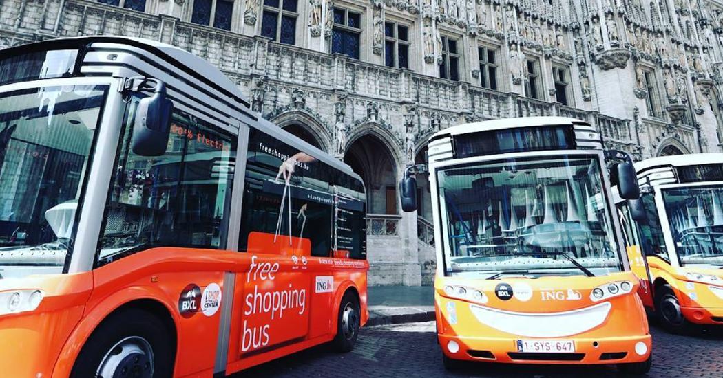 Pratique: les Free Shopping Bus à Bruxelles
