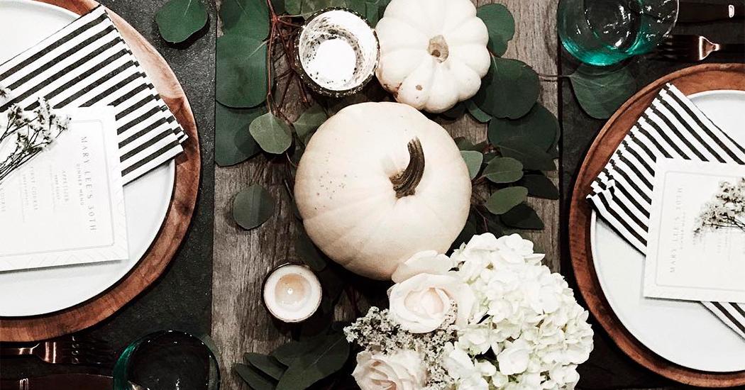 Les indispensables pour une jolie table d'Halloween