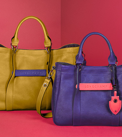 Crush of the day: le sac Longchamp 3D personnalisable