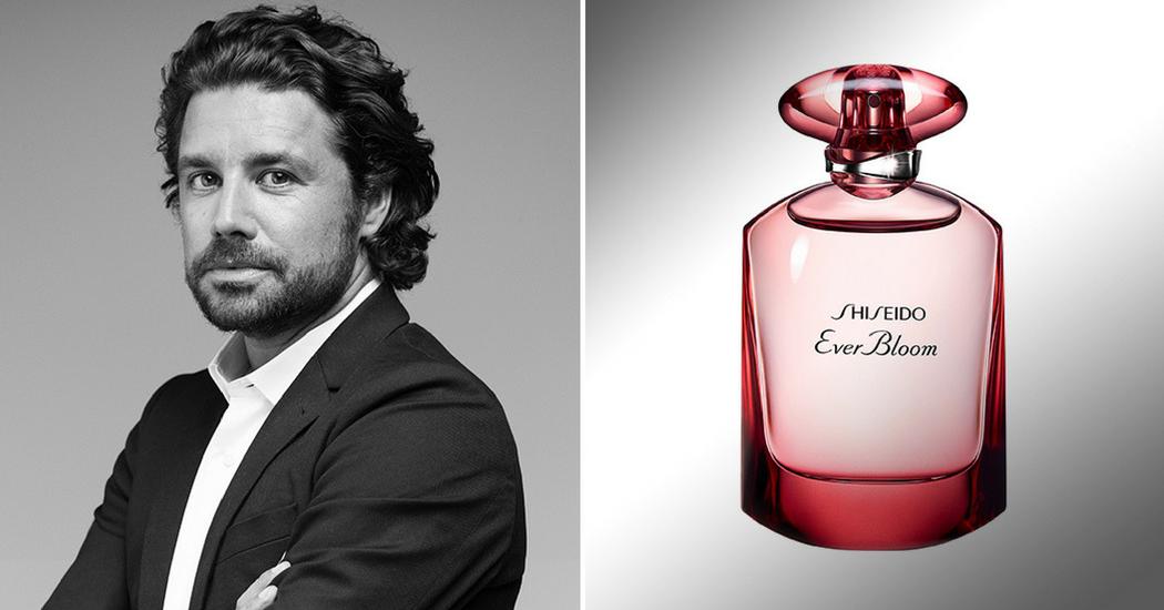 5 parfumeurs et leur nouvelle création: Aurélien Guichard à propos de Ever Bloom, Ginza Flower de Shiseido