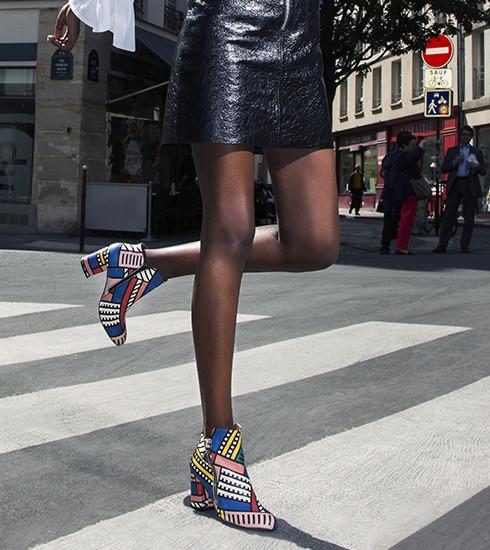Crush of the day: la collab' colorée de Sarenza x Camille Walala